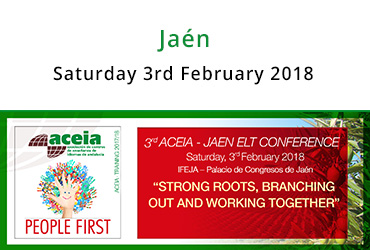 "3rd ACEIA-Jaén ELT Conference ""Call for papers"""